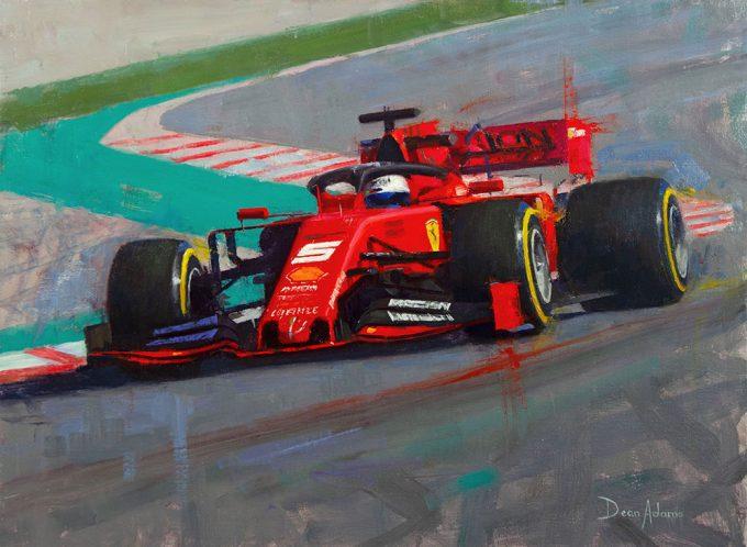 Sebastian Vettel, Ferrari SF09 F1